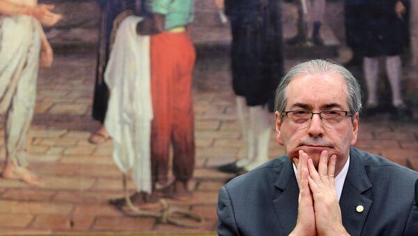Eduardo Cunha, expresidente de la Cámara de Diputados - Sputnik Mundo