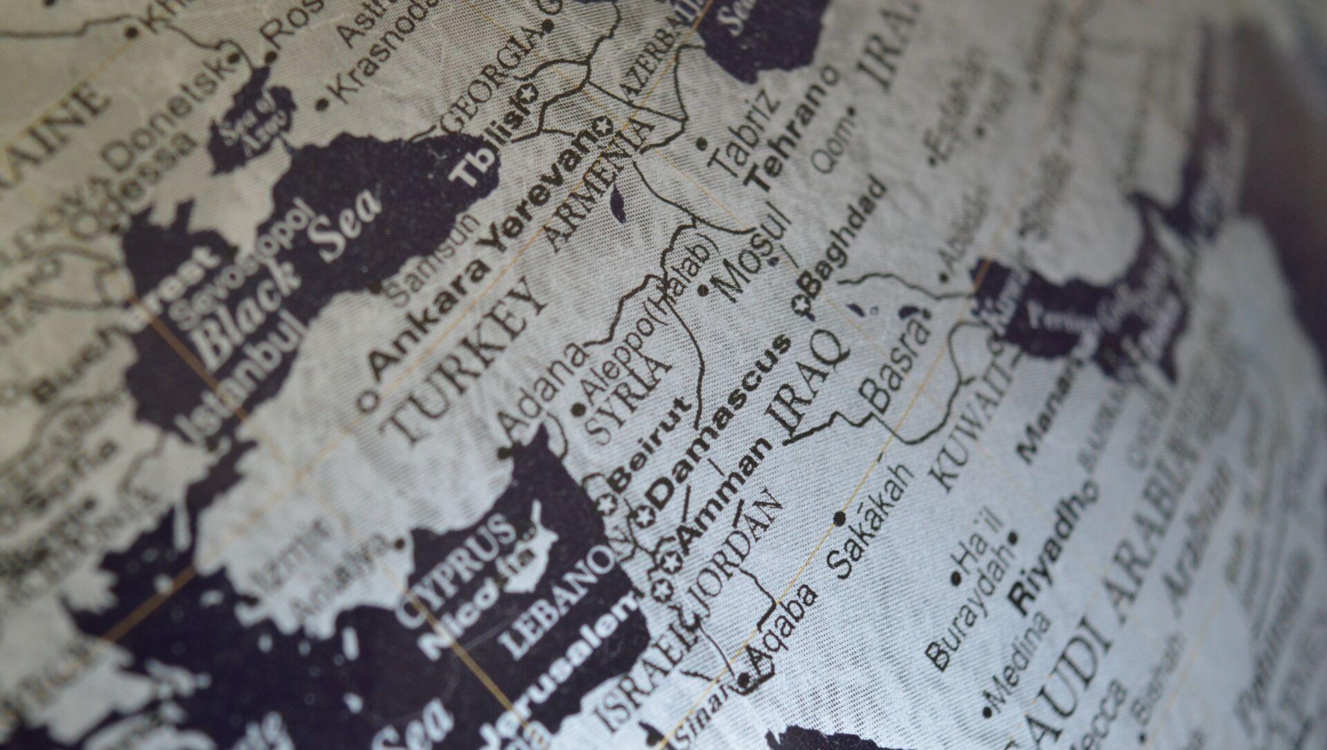 Siria en el mapa - Sputnik Mundo, 1920, 29.01.2021