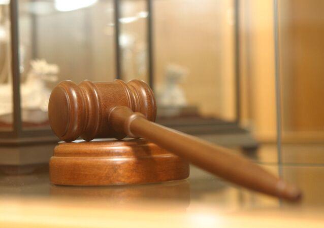 El mazo del juez (imagen referencial)