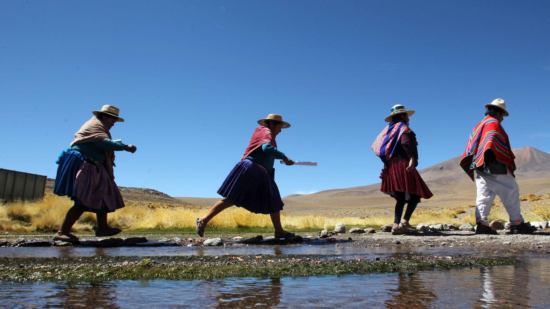 Indígenas aimará en Bolivia - Sputnik Mundo, 1920, 25.06.2021