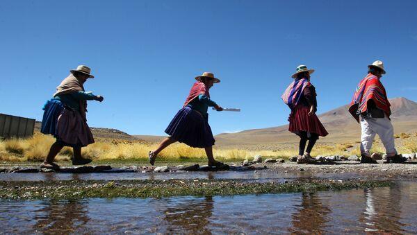 Indígenas bolivianos - Sputnik Mundo