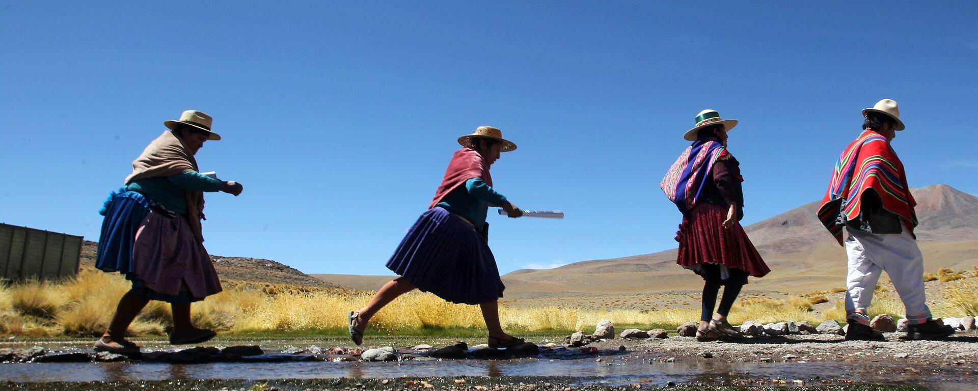 Indígenas aimará en Bolivia - Sputnik Mundo, 1920, 09.12.2020