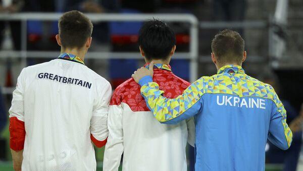 Los atletas de Ucrania y Japón - Sputnik Mundo