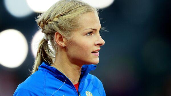 Darya Klishina, atleta rusa - Sputnik Mundo