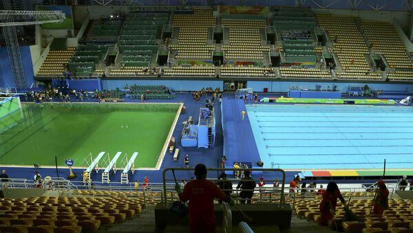 Las piscinas del centro acuático Maria Lenk - Sputnik Mundo