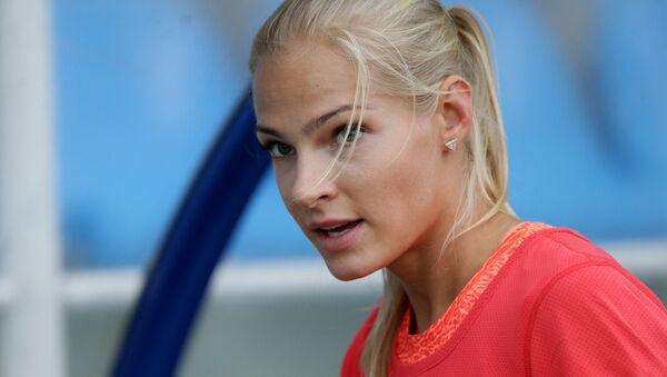 Daria Klíshina, atleta rusa - Sputnik Mundo