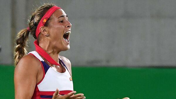 Monica Puig, tenista puertorriqueña - Sputnik Mundo