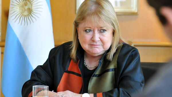 Susana Malcorra, la canciller argentina - Sputnik Mundo