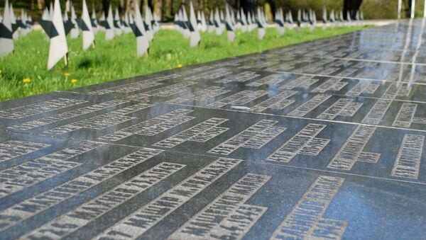 Cementerio de combatientes soviéticos en Gdansk, Polonia - Sputnik Mundo