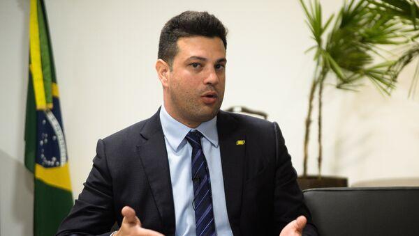 Leonardo Picciani, ministro de Deportes del Gobierno de Brasil - Sputnik Mundo