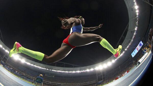Caterine Ibargüen, atleta colombiana - Sputnik Mundo