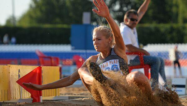 Darya Klishina, la atleta rusa - Sputnik Mundo