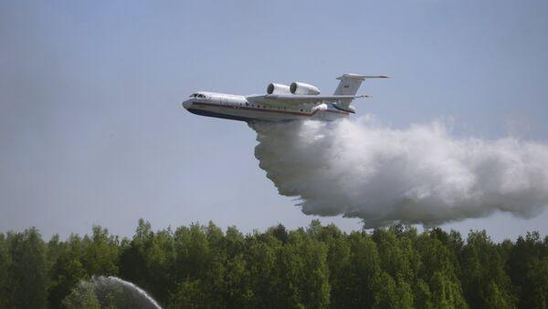 Aeronave anfibia Be-200ChS - Sputnik Mundo