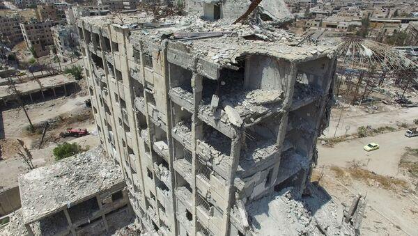 Alepo en ruinas: las imágenes desde el aire - Sputnik Mundo