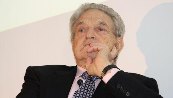 George Soros, financista multimillonario - Sputnik Mundo