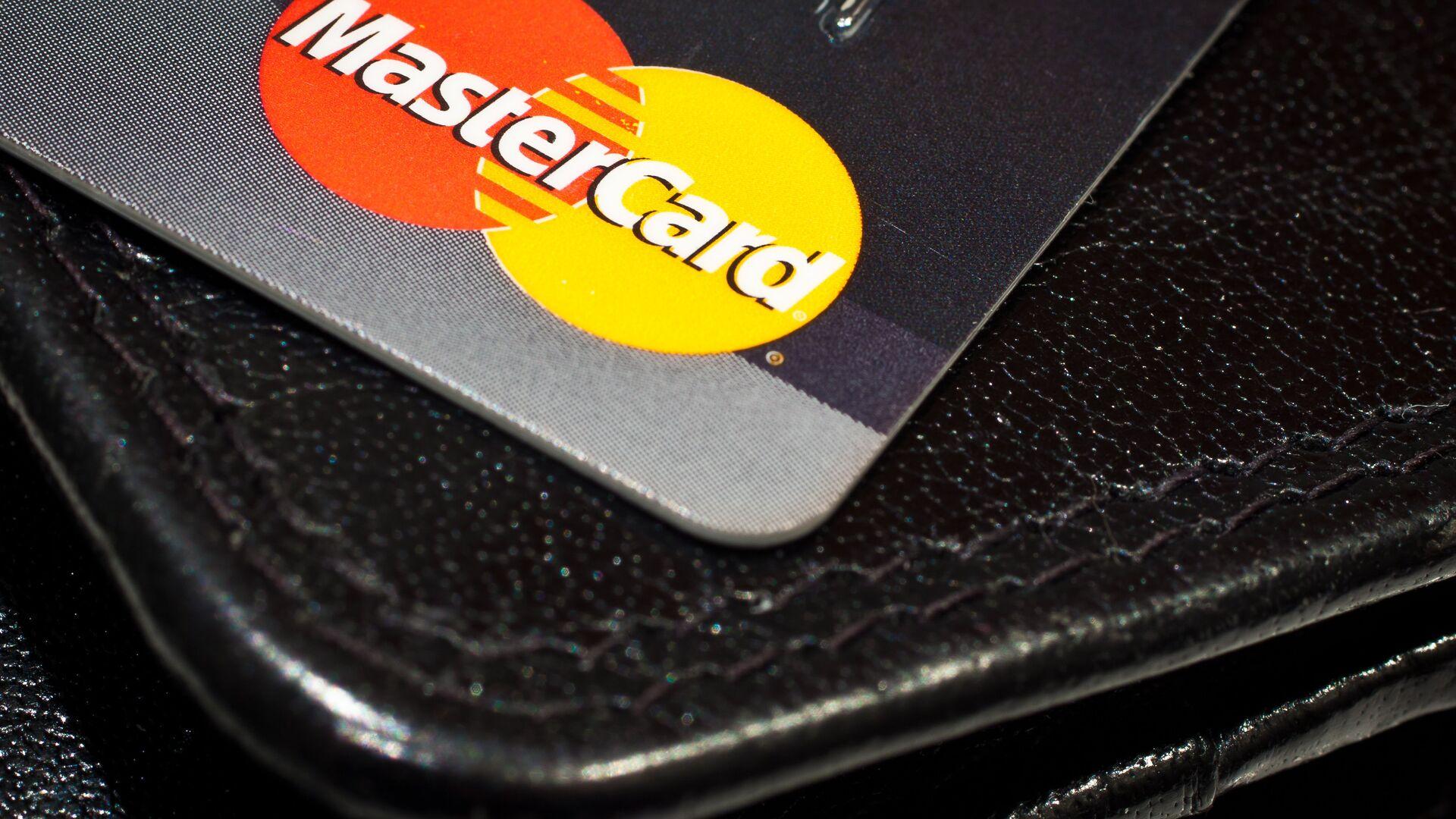 Una tarjeta de MasterCard - Sputnik Mundo, 1920, 11.06.2021