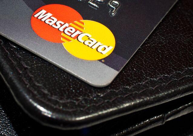 La tarjeta de MasterCard