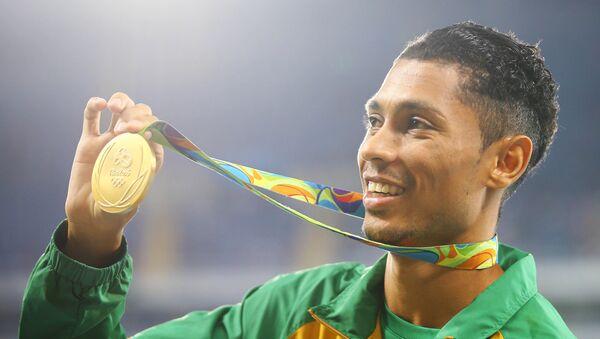 El medallista de oro de Sudáfrica, Wayde van Niekerk - Sputnik Mundo