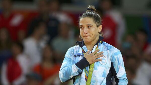 Paula Pareto, una judoca de Argentina - Sputnik Mundo