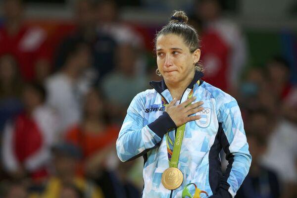 Paula Pareto, una judoca de Argentina, medalla de oro de Río - Sputnik Mundo