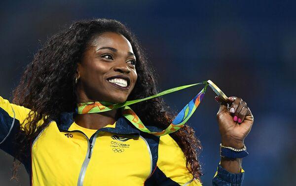 Caterine Ibargüen, atleta colombiana, medalla de oro de los JJOO 2016 - Sputnik Mundo