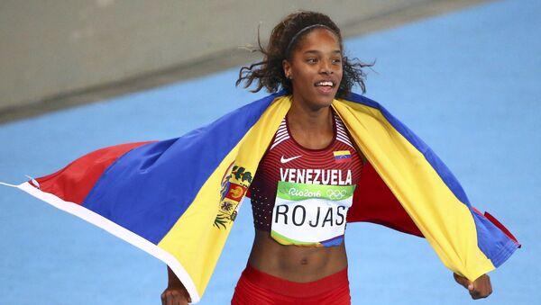 Yulimar Rojas, deportista venezolana - Sputnik Mundo
