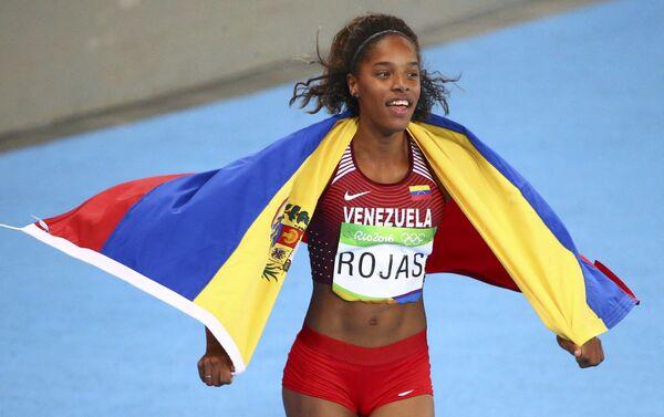 Yulimar Rojas, atleta venezolana, medalla de plata de los JJOO de Río 2016 - Sputnik Mundo