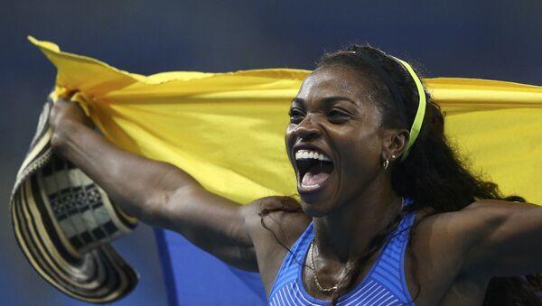 Caterine Ibargüen, atleta colombiana, medallista de oro olímpico - Sputnik Mundo