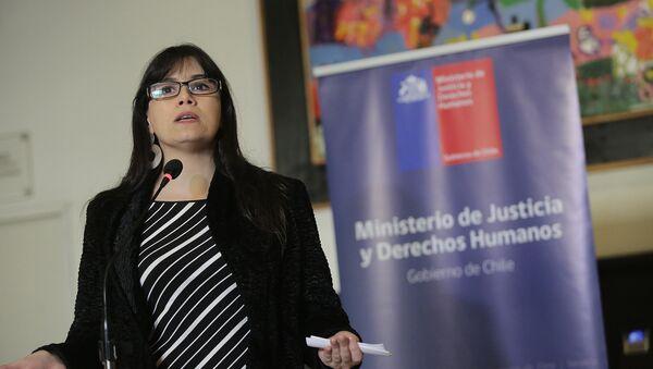 Javiera Blanco, Ministra de Justicia de Chile - Sputnik Mundo