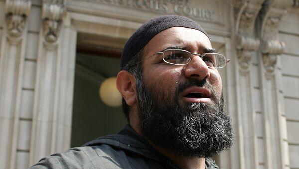 Anjem Choudary, clérigo musulmán británico - Sputnik Mundo