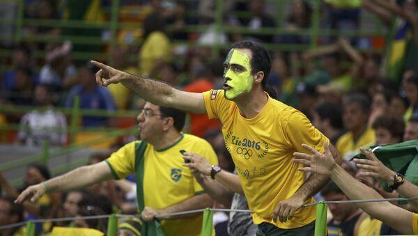 Hinchas brasileños - Sputnik Mundo