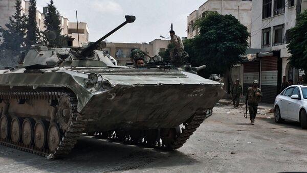 El Ejército sirio - Sputnik Mundo