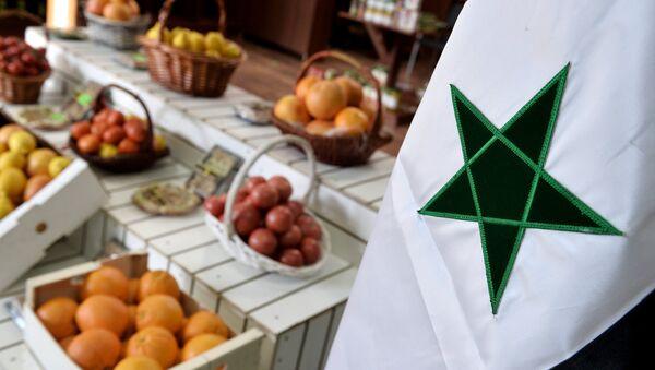 Alimentos sirios en Moscú - Sputnik Mundo