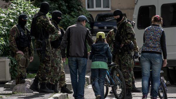 Escuadrón Especial de Respuesta Rápida en San Petersburgo - Sputnik Mundo