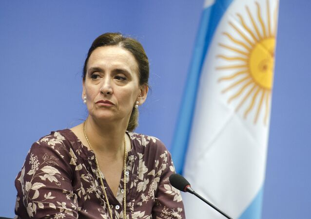 Gabriela Michetti, exvicepresidenta argentina (archivo)
