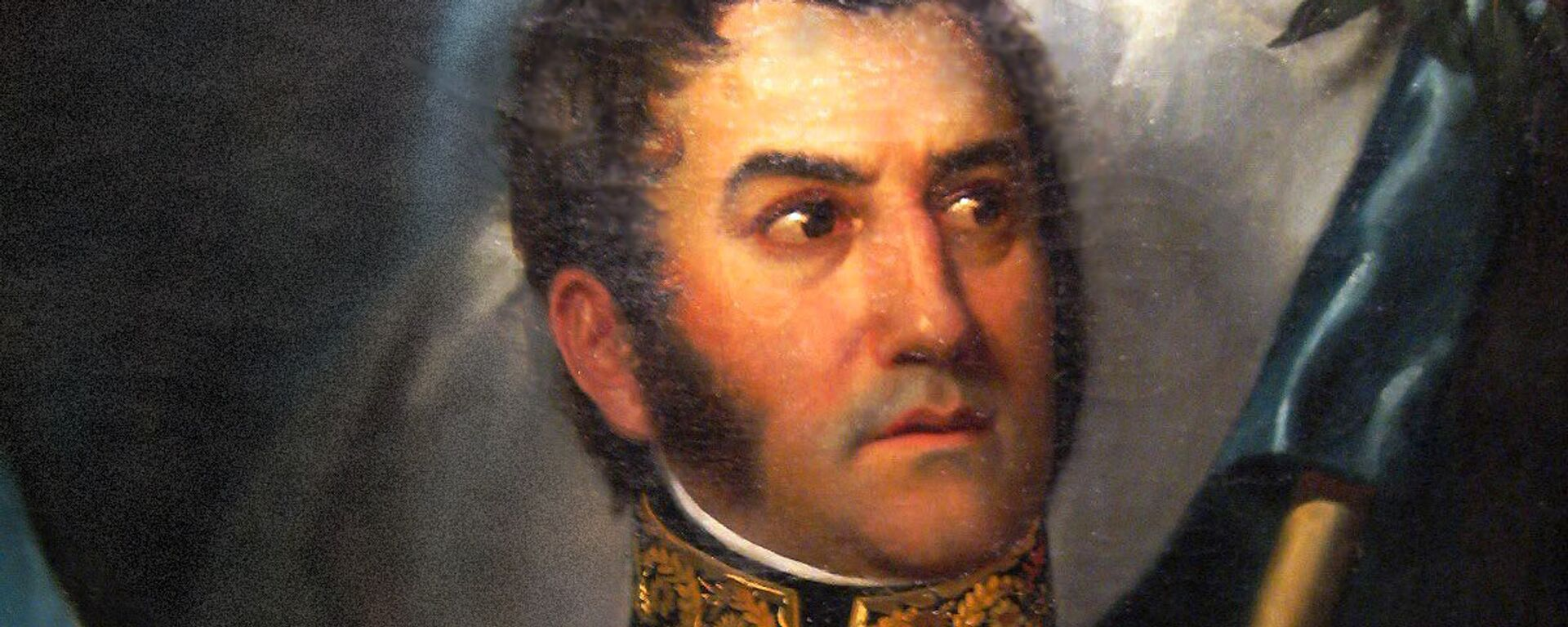 El retrato más canónico de José de San Martín (ilustración) - Sputnik Mundo, 1920, 17.08.2016