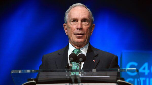 Michael Bloomberg, exalcalde de Nueva York - Sputnik Mundo