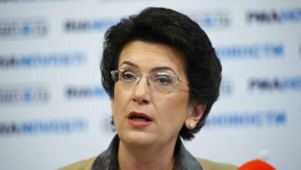 Ninó Burdzhanadze, expresidenta del Parlamento georgiano - Sputnik Mundo