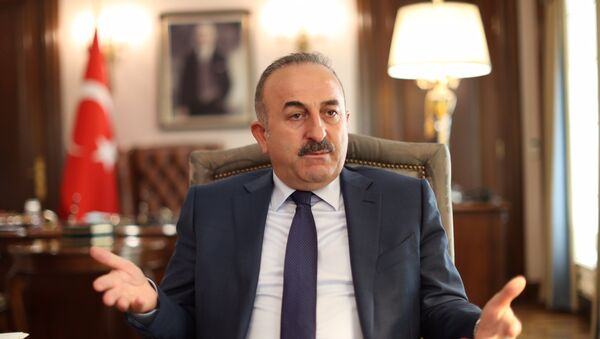 Mevlut Cavusoglu, el ministro de Exteriores de Turquía - Sputnik Mundo