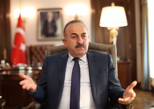 Mevlut Cavusoglu, ministro de Asuntos Exteriores de Turquía