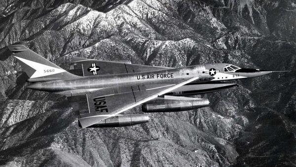 Bombardero estadounidense B-58 Hustler - Sputnik Mundo