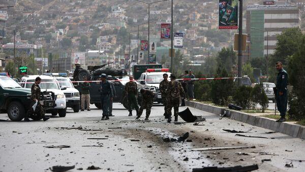 Lugar de un ataque talibán en Afganistán (archivo) - Sputnik Mundo