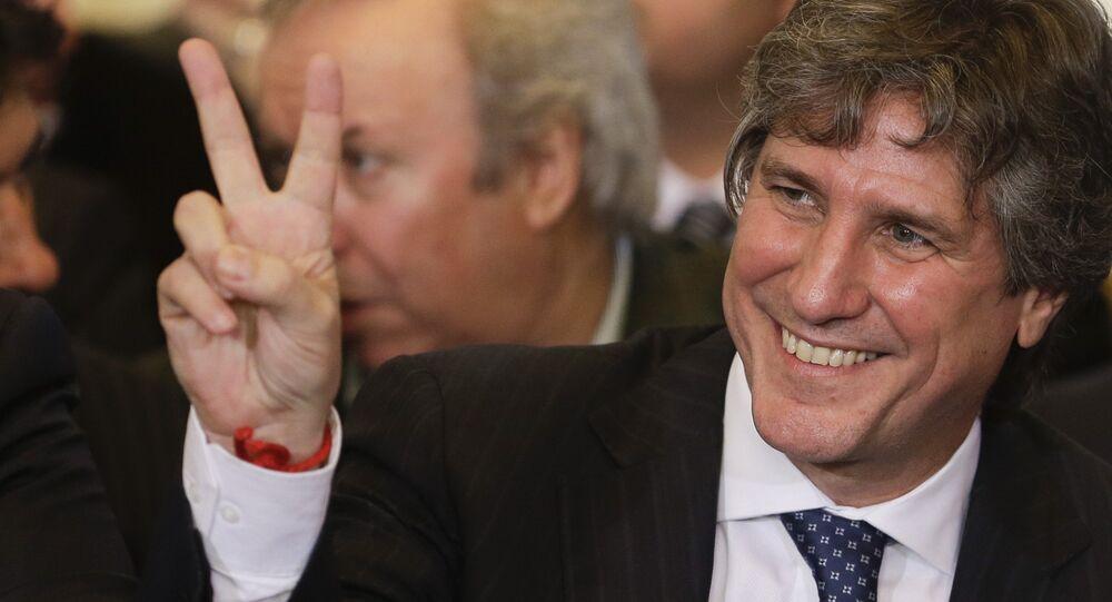Amado Boudou, ex vicepresidente de Argentina