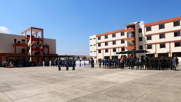 La escuela militar anti imperialista en la provincia de Santa Cruz, Bolivia - Sputnik Mundo