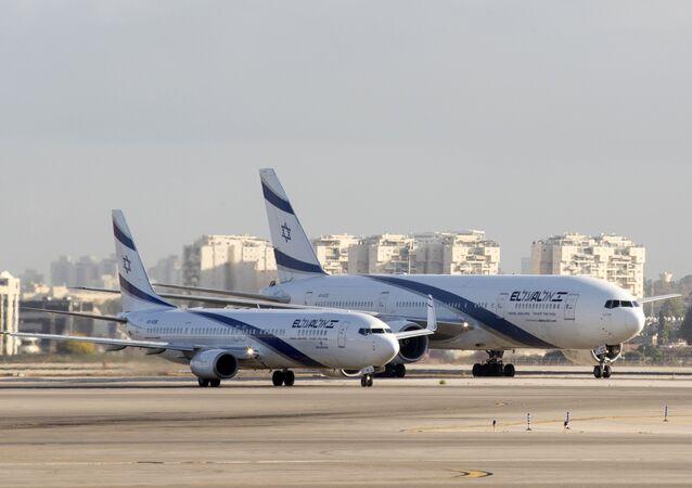 Los aviones de El Al Israel Airlines (archivo)