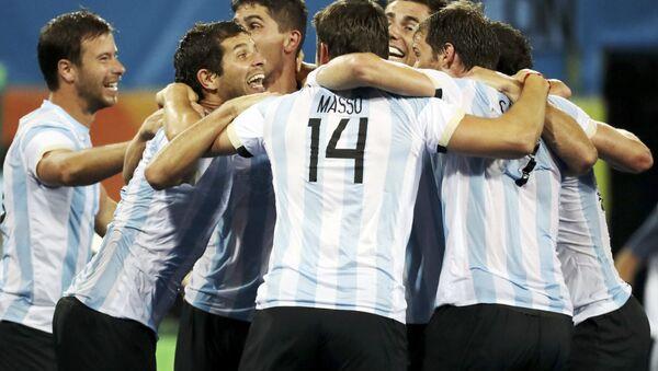 Selección argentina de hockey sobre césped - Sputnik Mundo