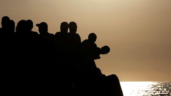 Migrantes en Europa (archivo) - Sputnik Mundo