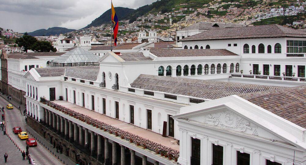 Asamblea Nacional designó a Ma. Alejandra Muñoz como Vicepresidenta de Ecuador