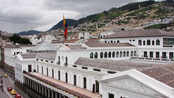 Gobierno de Ecuador - Sputnik Mundo