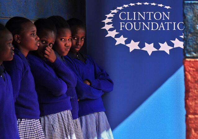 Logo de Clinton Foundation